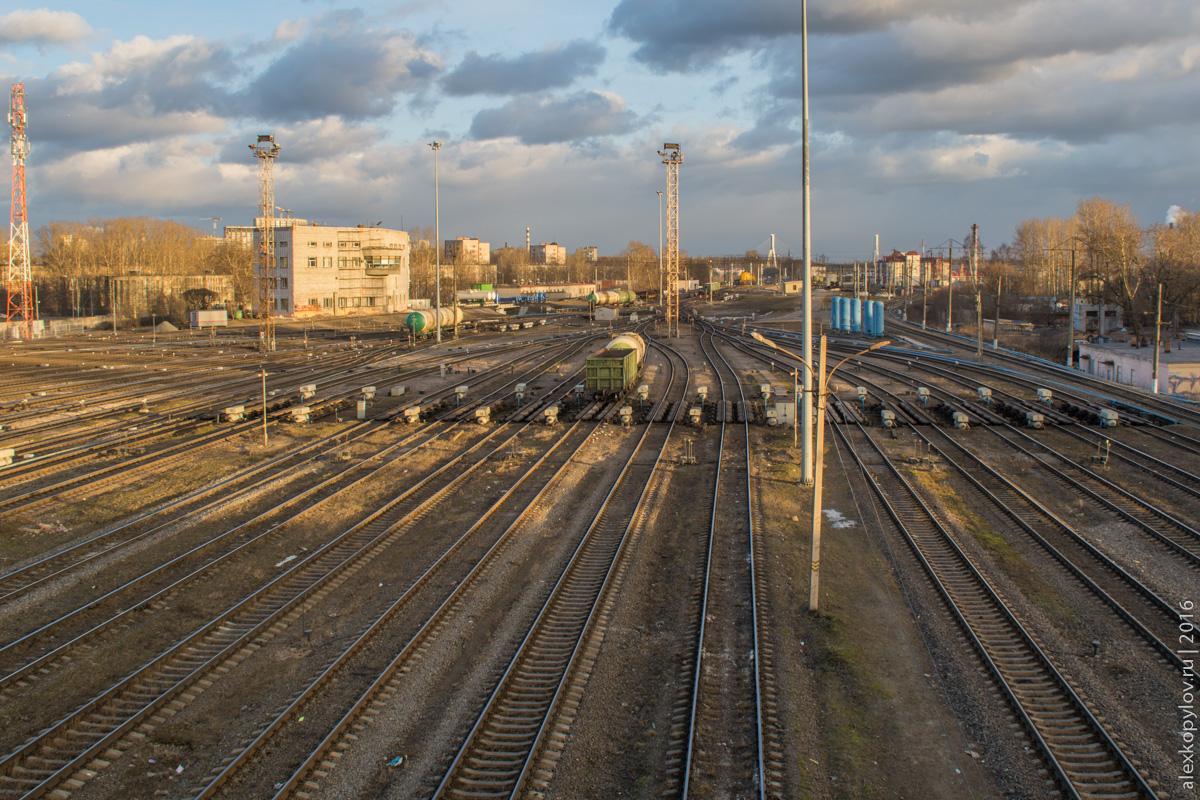 Железная дорога, сортировочная