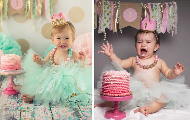 Фотосессии малышей: когда что-то пошло не так