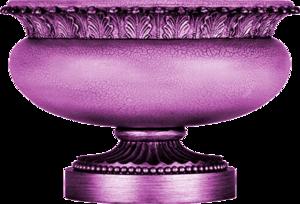 ваза фиолетовая