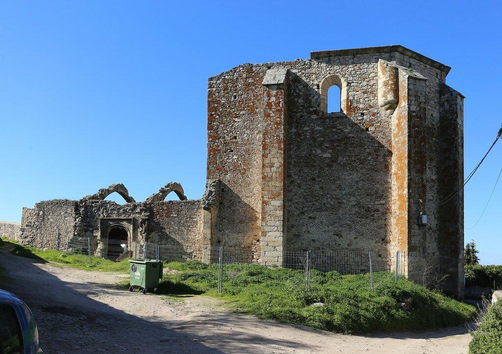 Church of Santo Domingo ruins, Trujillo