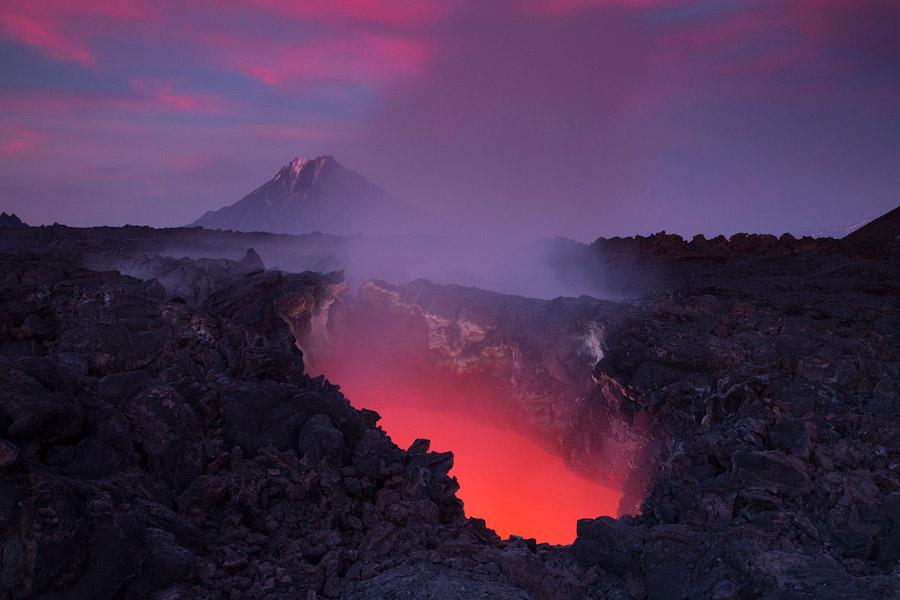 7. «В следующий раз я попал на извержение уже в июле 2013 года. Хотя к тому времени интенсивнос