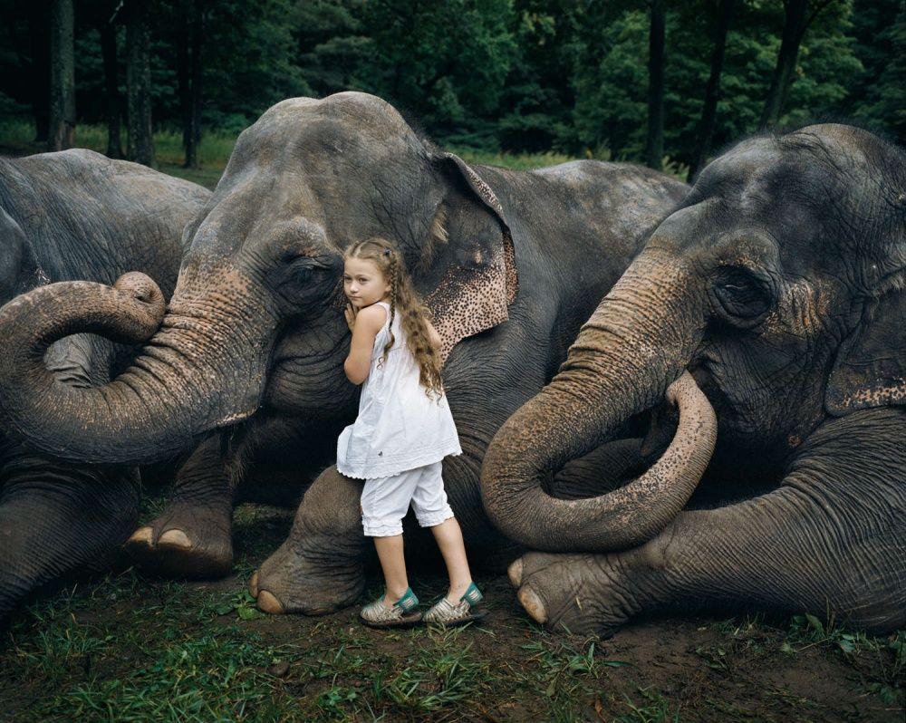 1. Друзья этой малышки в 10 раз больше ее самой, но с таким же добрым сердцем. (© Robin Schwartz)