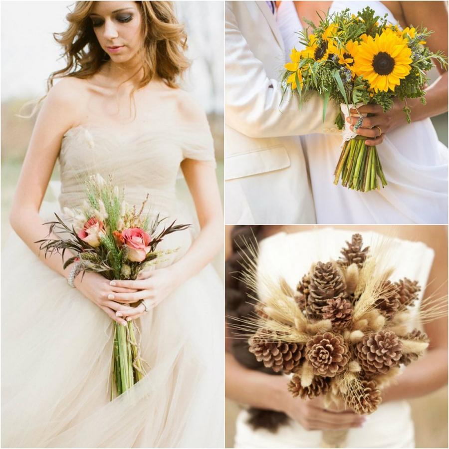 6. Такой простой и одновременно с этим лаконичный букет лишь подчеркнет образ невесты.
