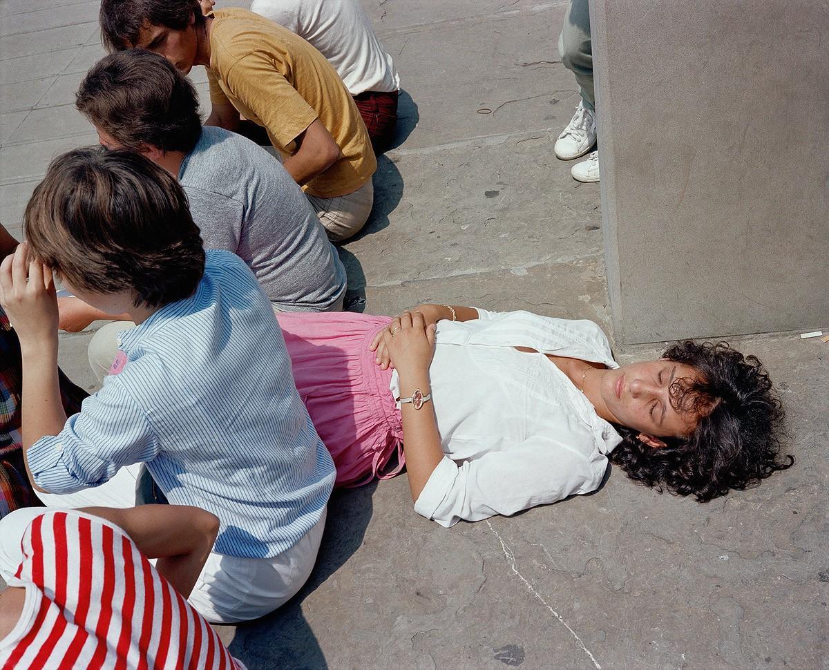 9. Венеция, 1981. (Charles Traub)