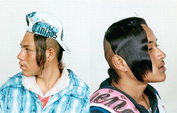 Мода такая суровая, кого только не увидишь на улицах. В Колумбии можно встретить людей с оригинальны
