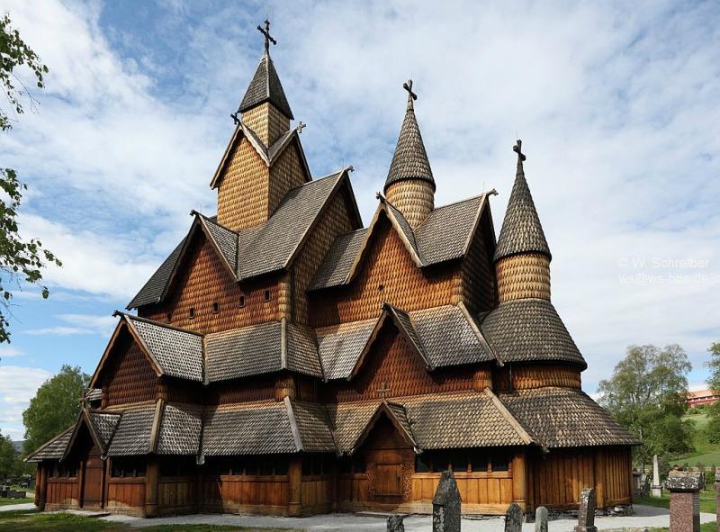 Достопримечательности Норвегии: церковь Хеддал