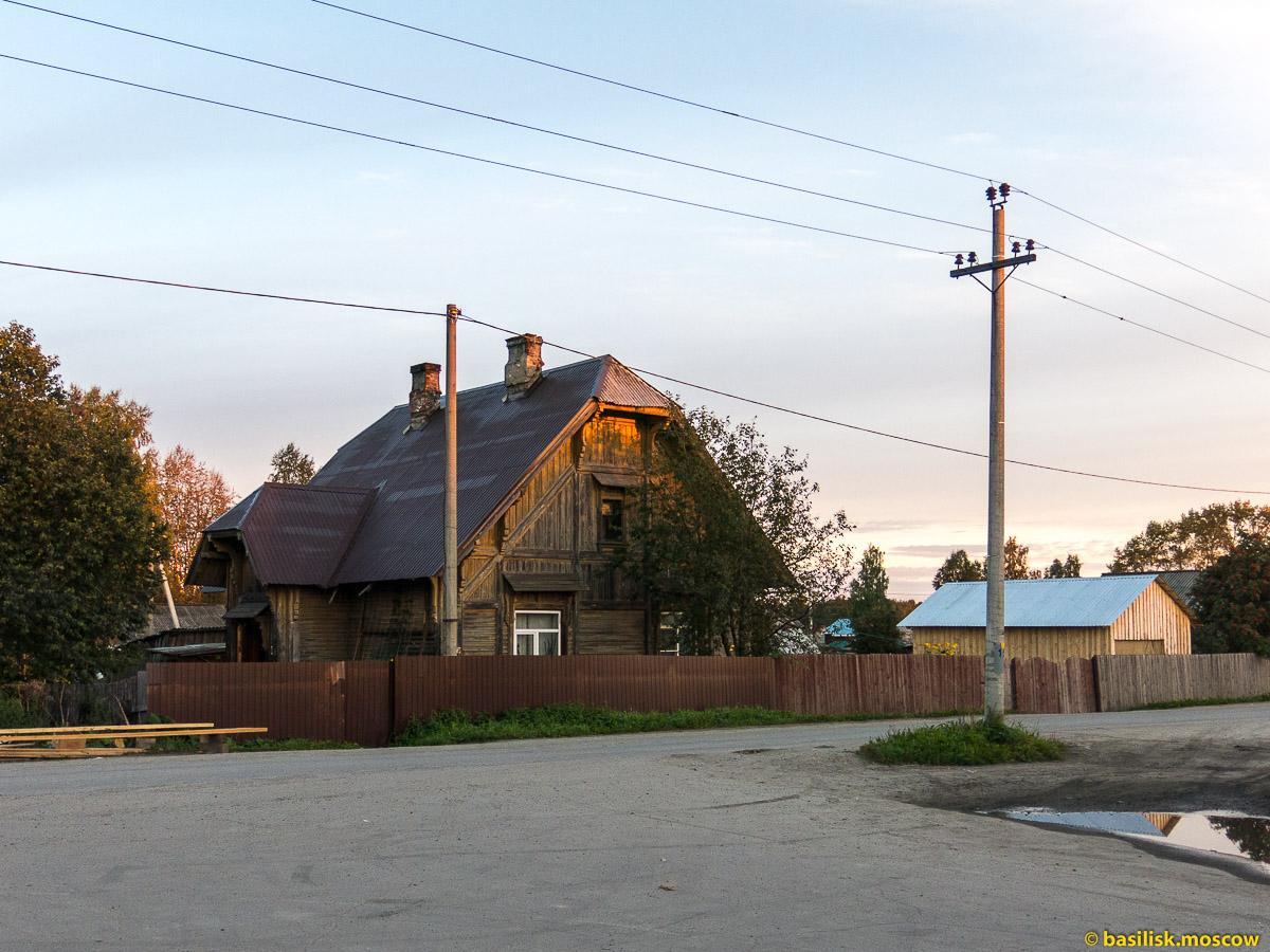 Станция Обозерская. Архангельская область. Август 2016