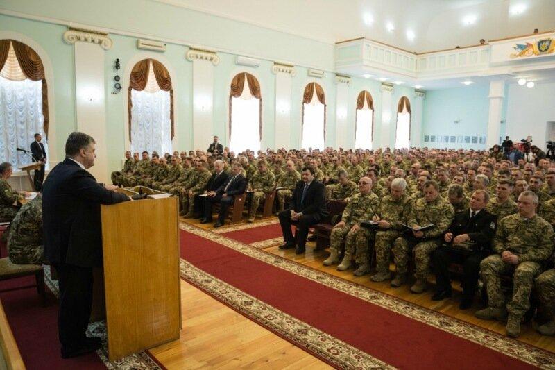 Зустріч Порошенка з військовими командирами