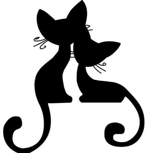 Рисунки космических котов