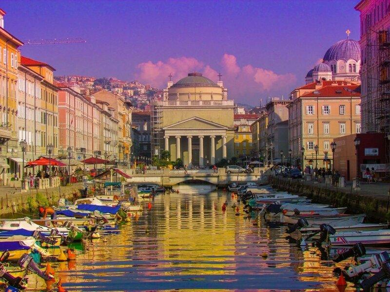 Город Триест в Италии: что там есть интересного?