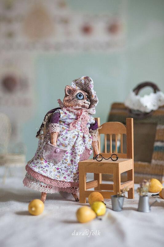 Куклы ручной работы в стиле Дарафолк.
