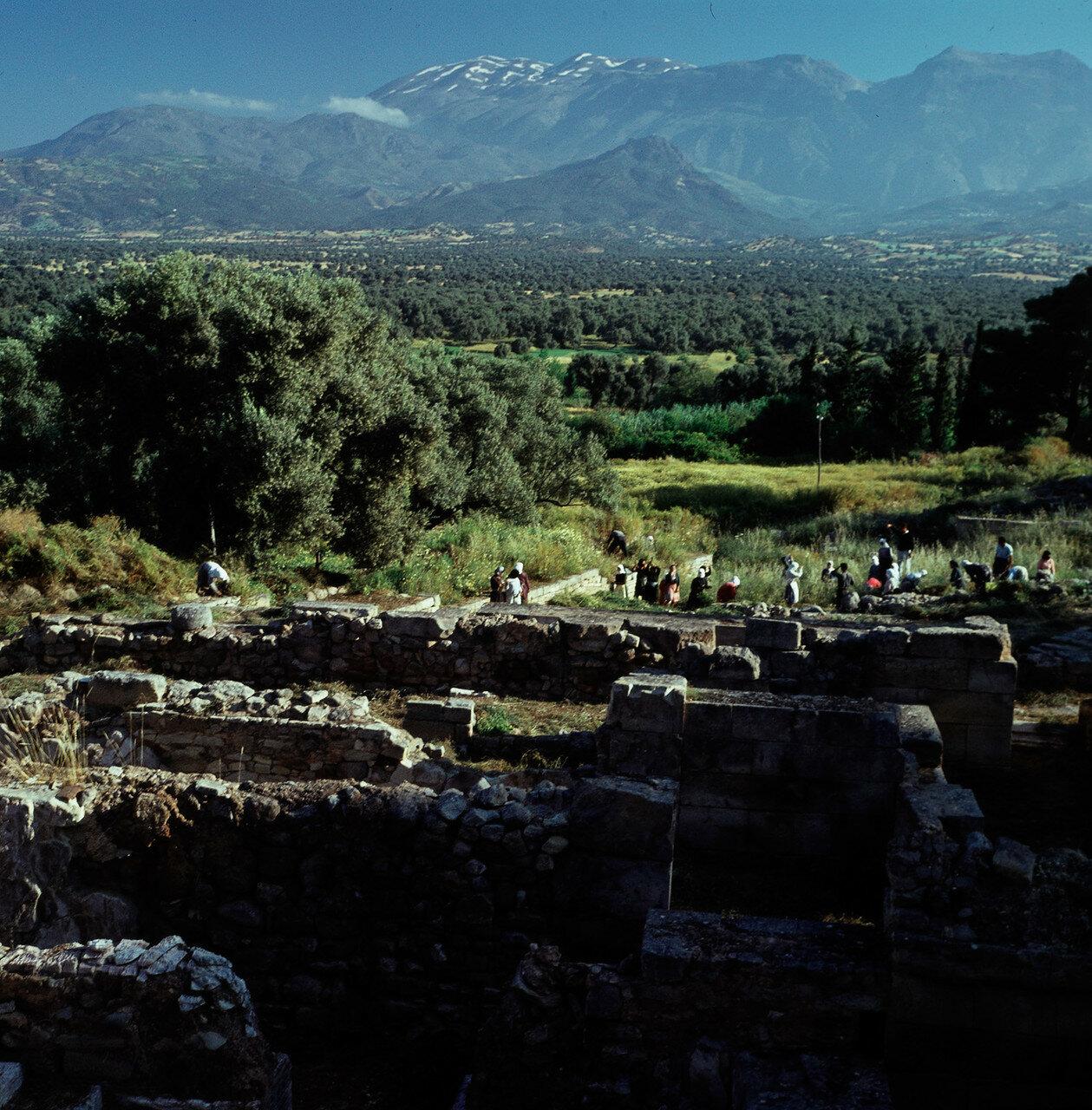 Крит. Агиа Триада. Дворец минойской эпохи. Северное крыло