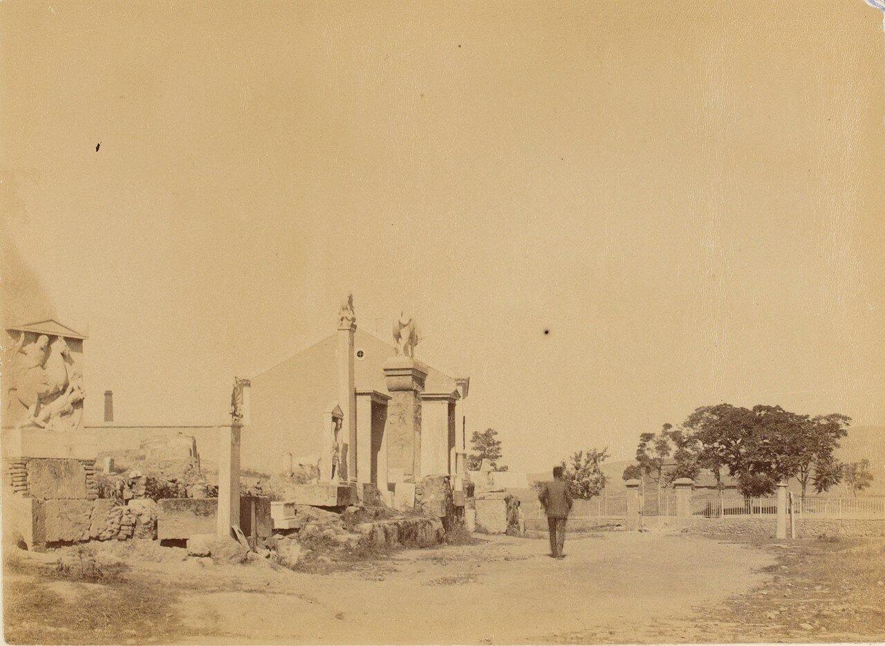 60. Афины. Кладбище Керамик. Общий вид