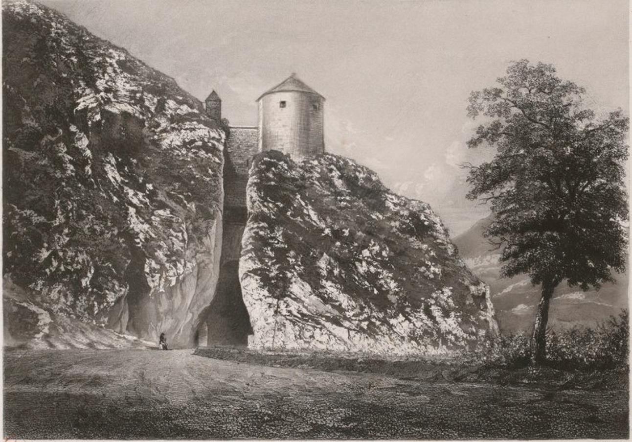 Франция. Безансон. Ворота Тайе (часть акведука императора Марка Аврелия, II в. н. э.)