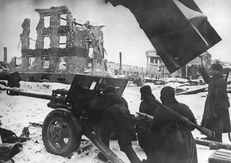 «Красная звезда», 18 апреля 1943 года, Сталинградская битва, сталинградская наука, битва за Сталинград