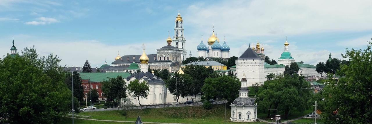 Фотовпечатления о поездке в Сергиев Посад в Троицын день