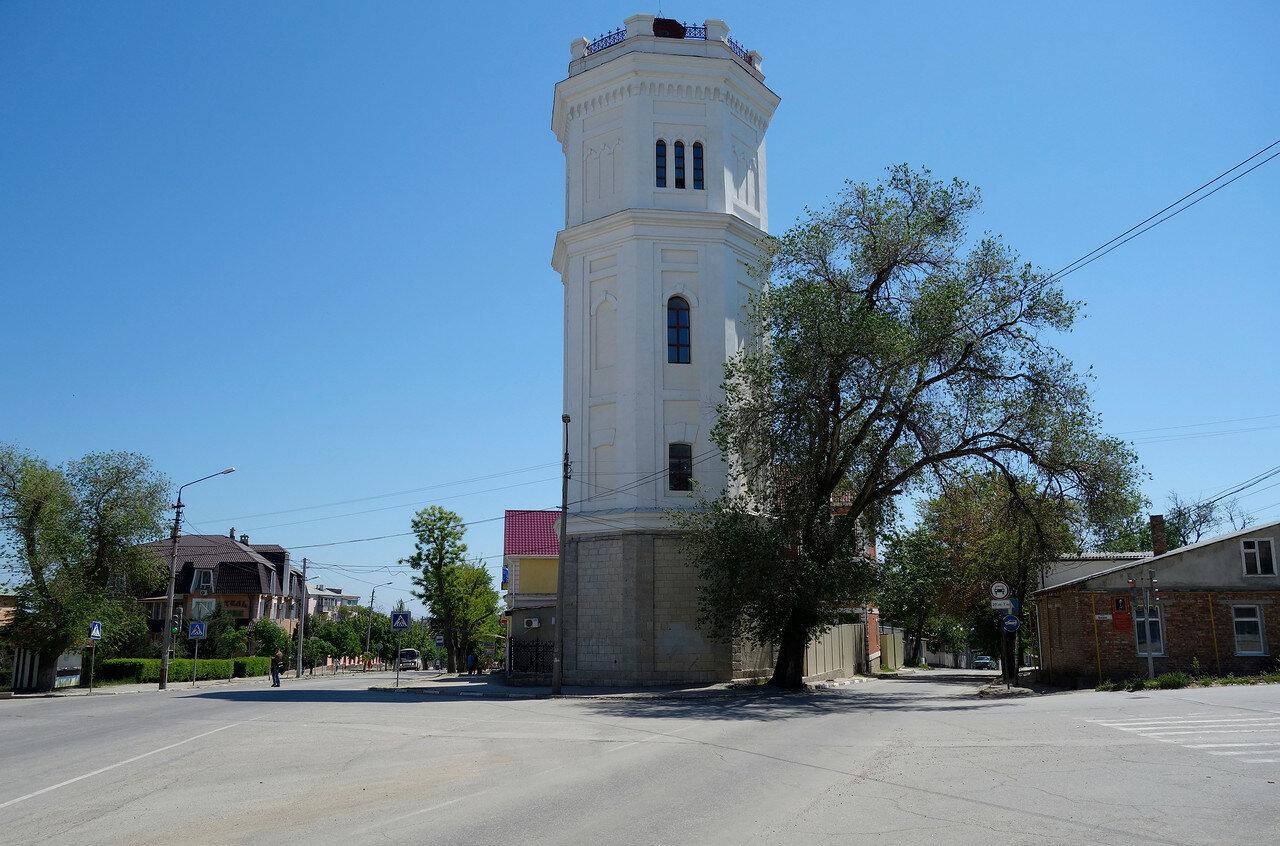 водонапорная башня Белый бассейн