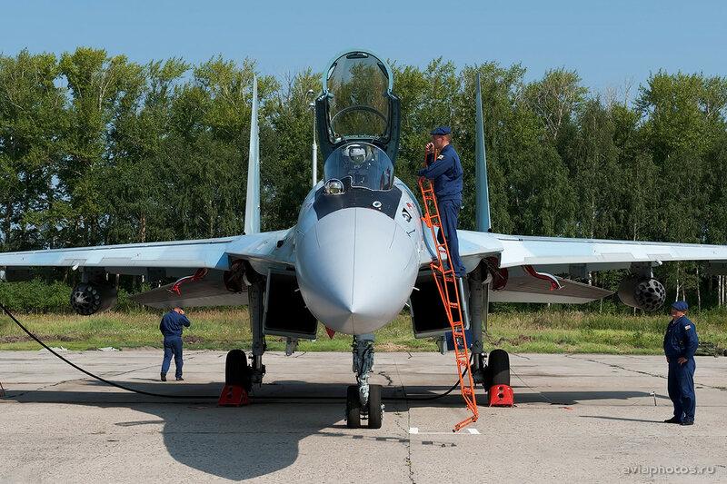 Сухой Су-35С (RF-95477 / 34 красный) ВКС России 0020_D703498