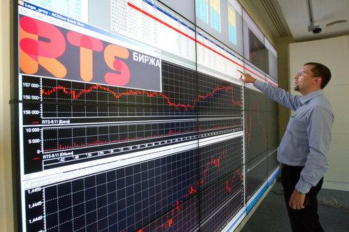 Российский рынок акций находится под давлением геополитики