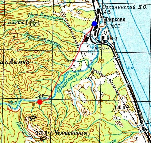Карта маршрута 28 августа
