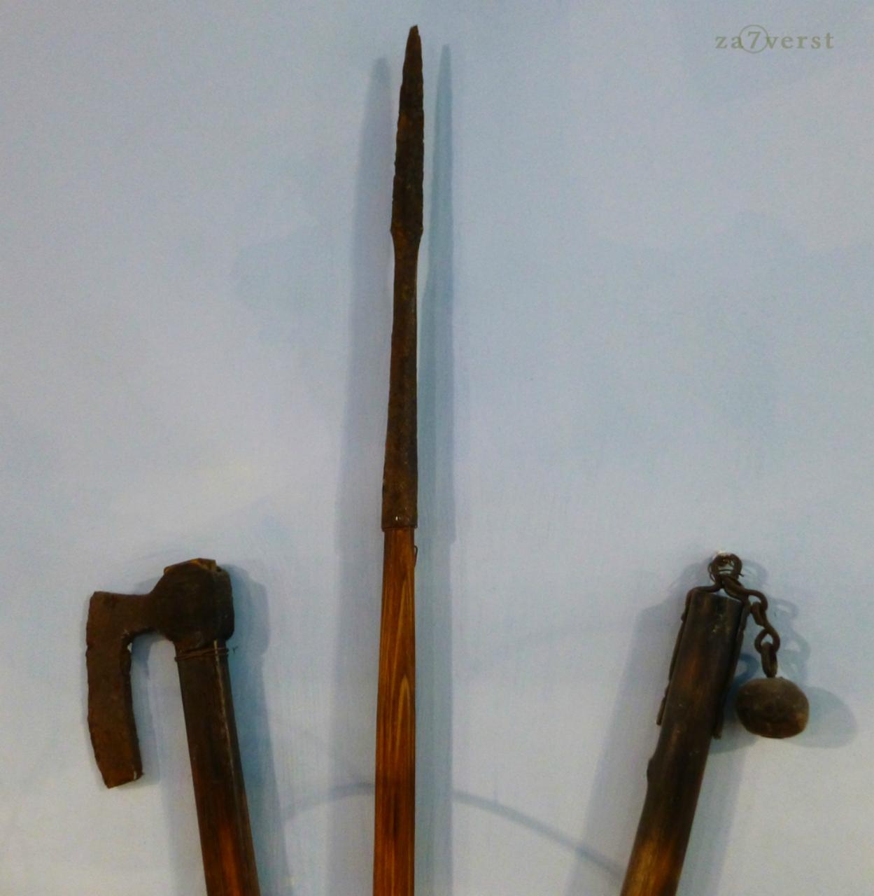Морской музей, оружие викингов