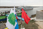 Теплоходы в Дубне / Cruise ships in Dubna, the Upper Volga