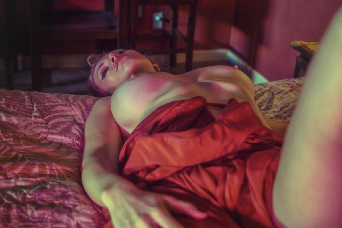 Nova Blonde by Achilleas Gatsopoulos for INSOMNIA Magazine