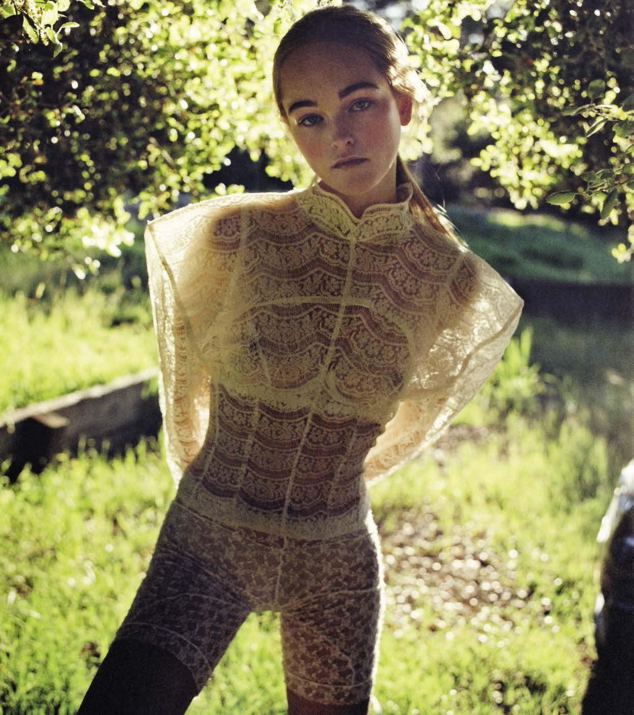 Vogue Italia May 2017 / модель Jean Campbell / фотограф Zoe Ghertner