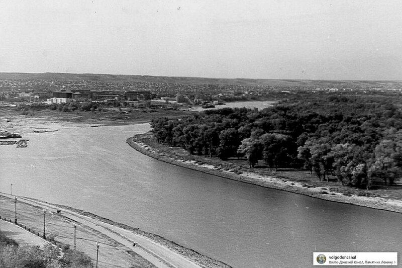 Волгодонской канал - 1973-й год