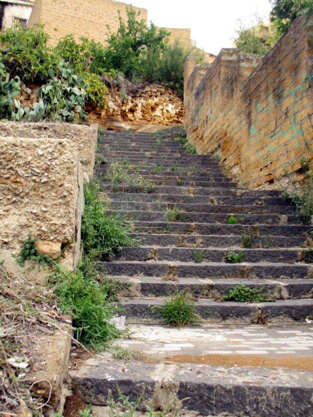 Агридженто. Лесницы Никоне (Via Nicone)