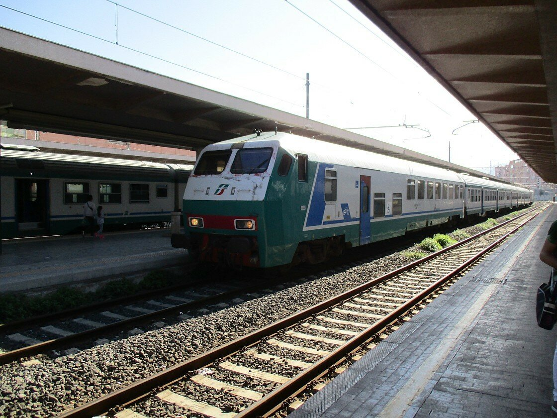 Palermo. Train station