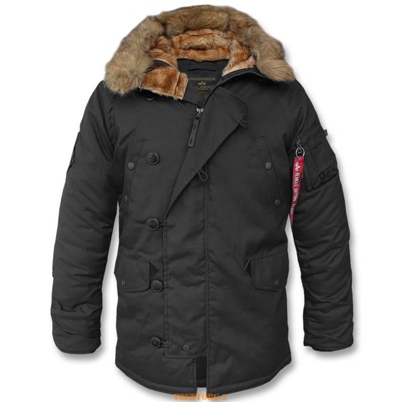 Мужские куртки «Аляска» (1 фото)