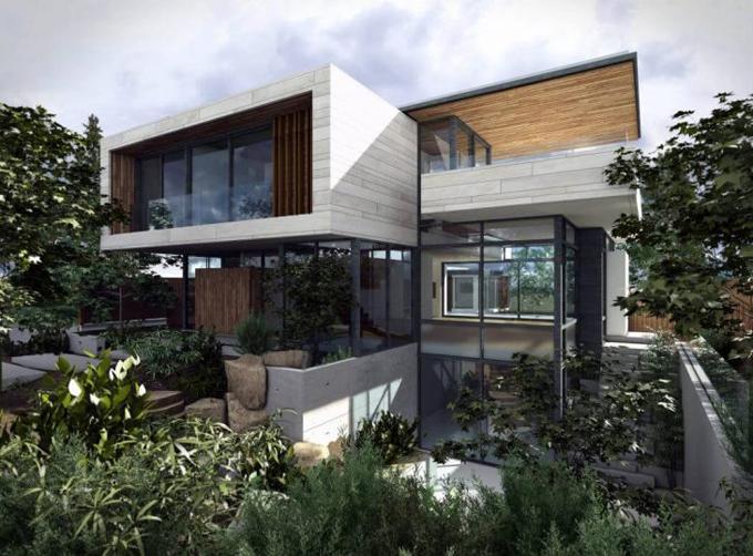 Современный дом в Ванкувере