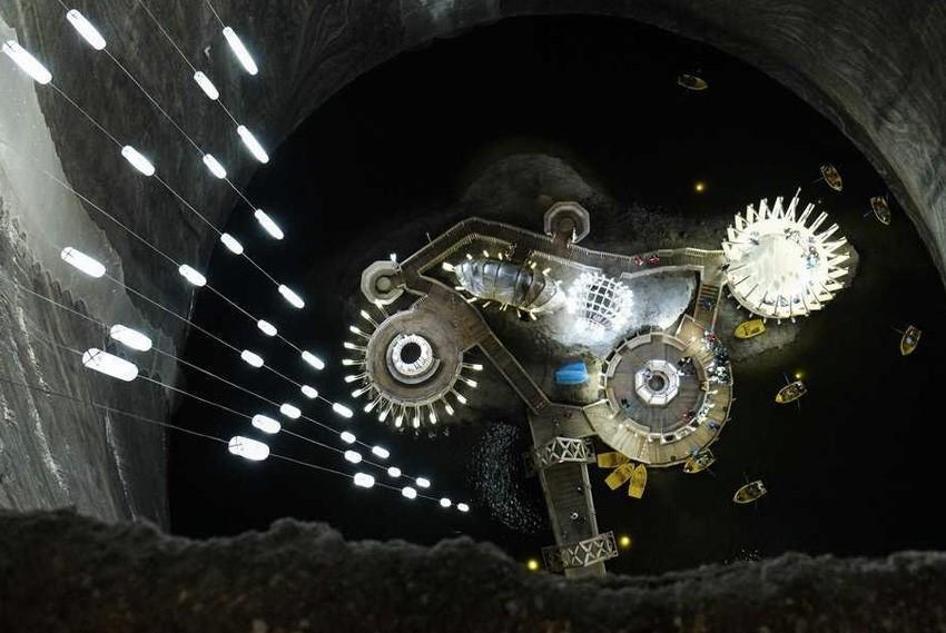 22. Салина Турда, Румыния Гигантскую соляную шахту трансформировали в туристический аттракцион. Запл
