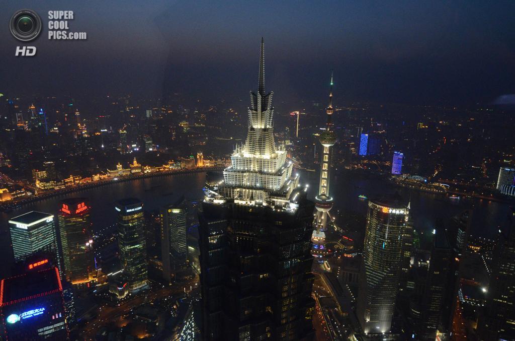 7. Башня «Цзинь-Мао», Шанхай. Высота: 421 м. Введение в эксплуатацию: 1999 год. (Andrea Paraggio