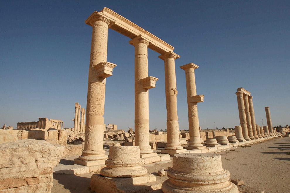 18. Храм Бэла в Пальмире — храм посвященный местному верховному богу Бэлу, входит в состав комп