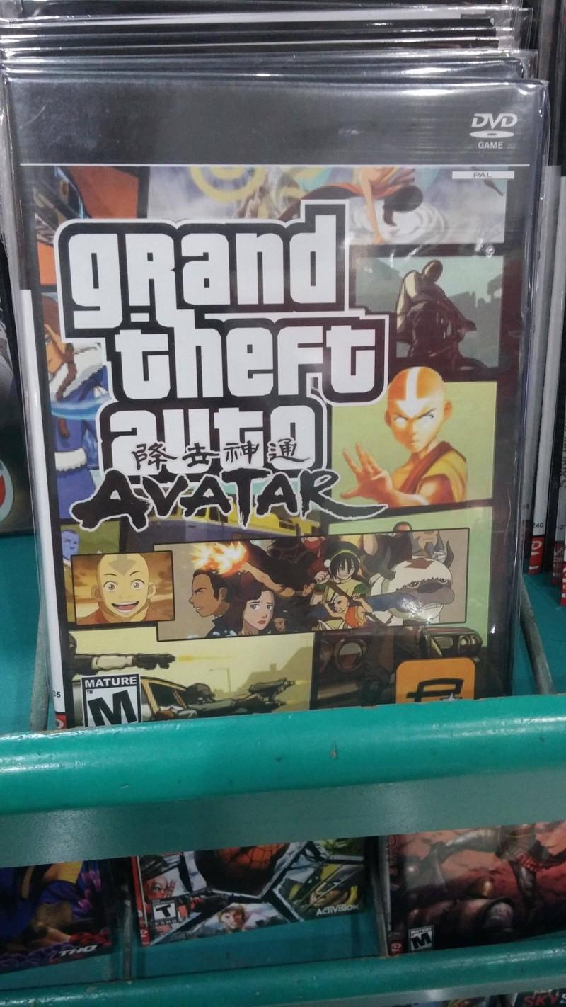 Напрашивается резонный вопрос: в какие же игры играют владельцы PolyStation? Отвечаем: GTA Avatar!