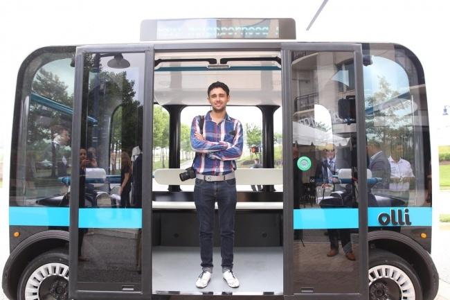 Будущее сейчас: в США представили автобус, напечатанный на 3D-принтере (5 фото)