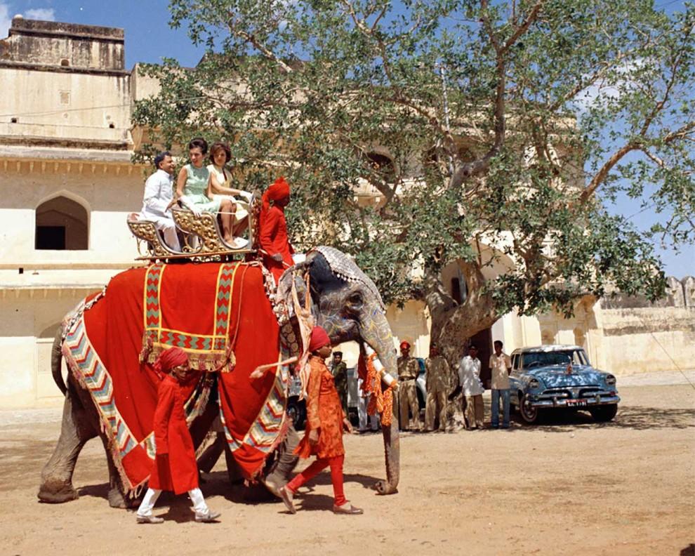 Визит Жаклин Кеннеди в Индию в 1962 году