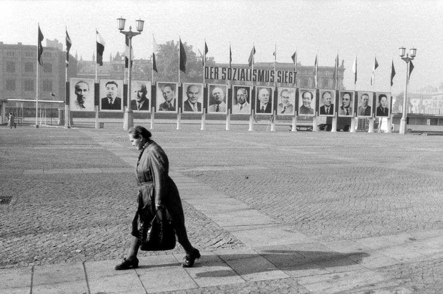 В парке имени Горького, Москва, 1962 г.