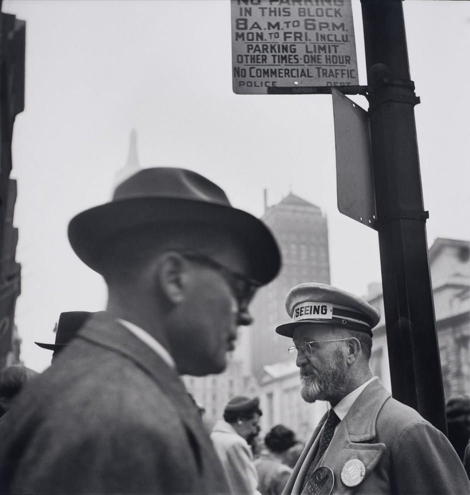 Город Нью-Йорк, 1953 год.