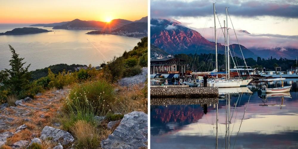 Черногория — красивая, преимущественно горная страна, совсем небольшая по протяженности, что позволя