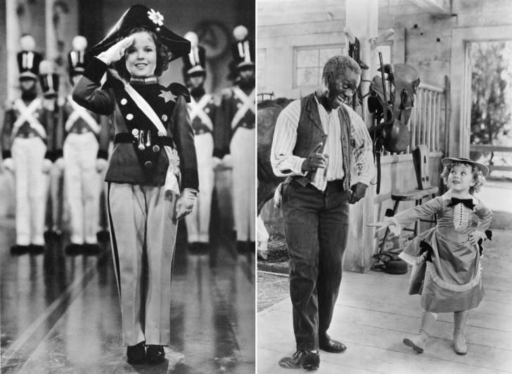 Ширли в фильмах «Маленький полковник» и «Ребекка с фермы Саннибрук».