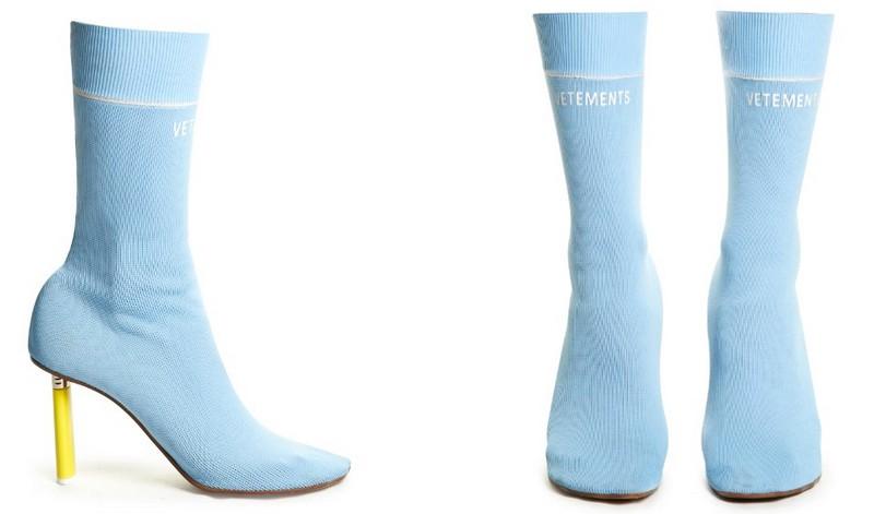 Название этой модели говорит за себя. Суперузкая обувь из плотной стретчевой ткани действительно выг