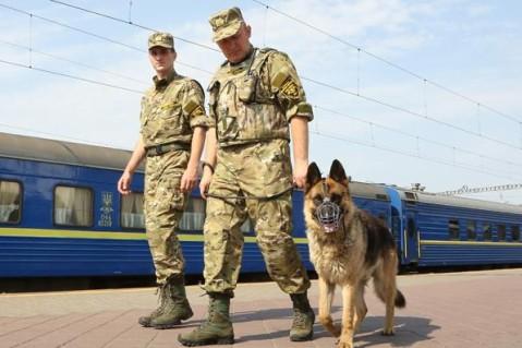 Безопасность пассажиров сэтого момента  обеспечивает Железнодорожная охранная компания
