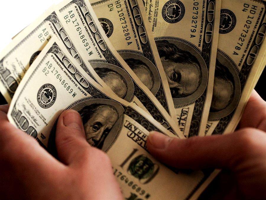 Доллар упал доминимума загод при открытии торгов