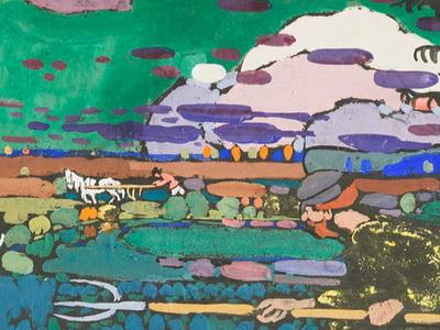В столице России пройдет выставка ранних работ Кандинского