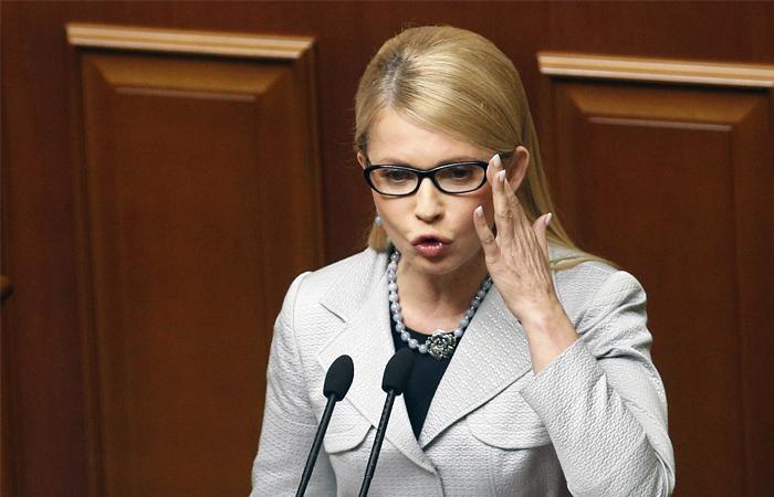 Тимошенко: Гонтарева возглавляет программу уничтожения украинских банков