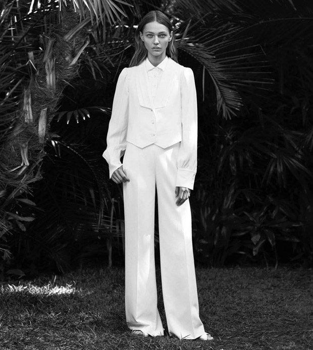 Sasha Pivovarova Stars in Frame Spring Summer 2017 Campaign