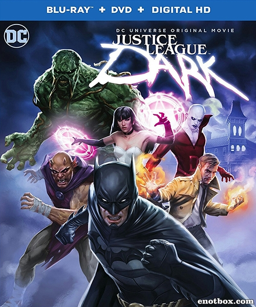 Темная Вселенная / Justice League Dark (2017/BDRip/HDRip)